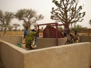 le puits et son maçon Ghana
