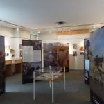 première salle d'exposition vue générale