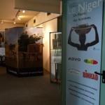 """entrée de l'expo, l'affiche """"Fleuve Niger"""", nos partenaires"""