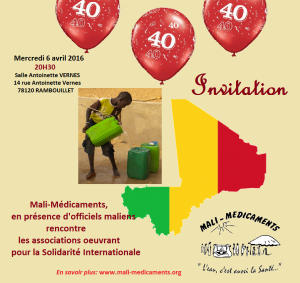 invitation assos anniversaire 40 ans